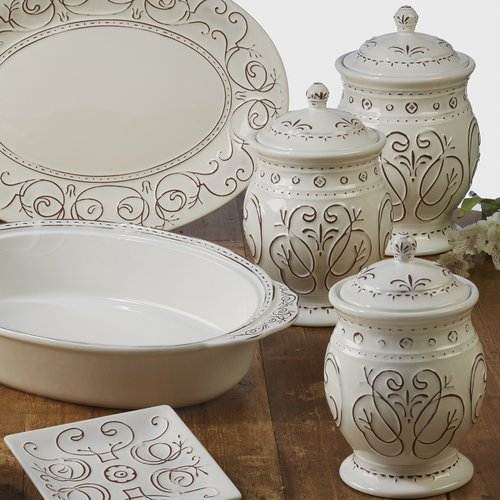 Ophelia & Co. 3 Piece Kitchen Canister set