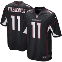 Larry Fitzgerald Arizona Cardinals Nike Youth Alternate Game Jersey - Black