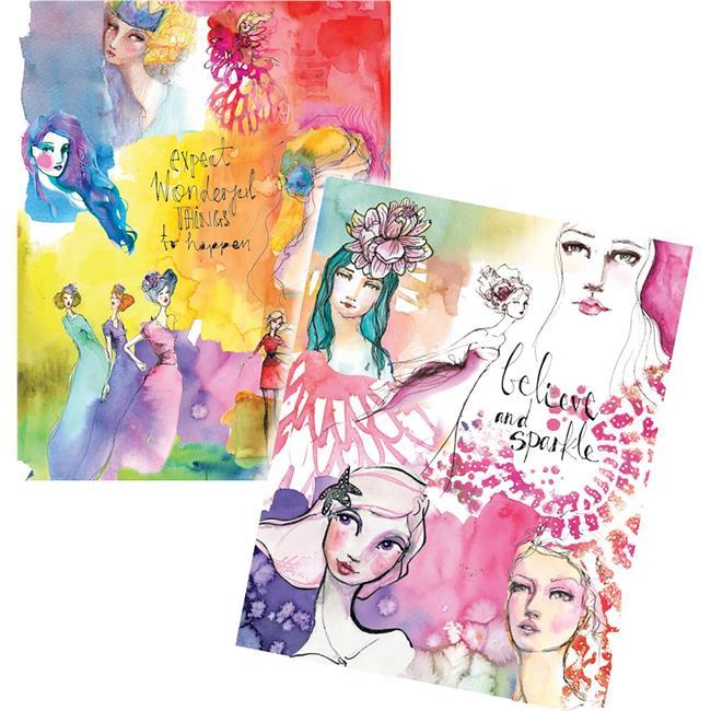 Jane Davenport Artomology Washi Sheets 4//pkg-washi Mermaids