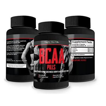 Pilules BCAA -  1 Noté acides aminés Formule - construire le muscle Combat musculaire Break Down - augmenter l'endurance et te