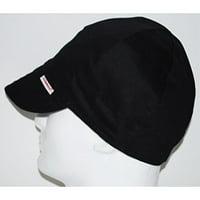 19195a32a21 Product Image Comeaux Caps Reversible Welding Cap Solid Black 8