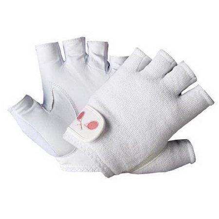 Tourna Men's Half Finger Tennis Glove (Medium, (Finger Tennis Gloves)