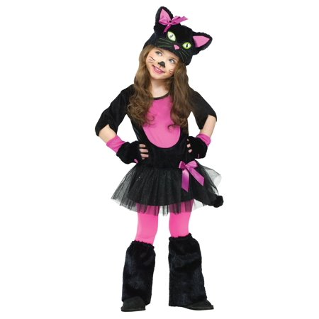 Kitty Cat Costumes For Girls (Miss Kitty Toddler Girls)