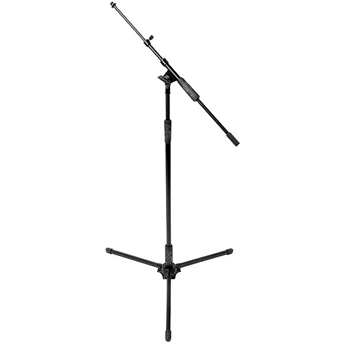 Hosa Microphone Stand with Telescoping Boom Arm