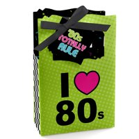 80's Retro - Totally 1980s Party Favor Boxes - Set of 12