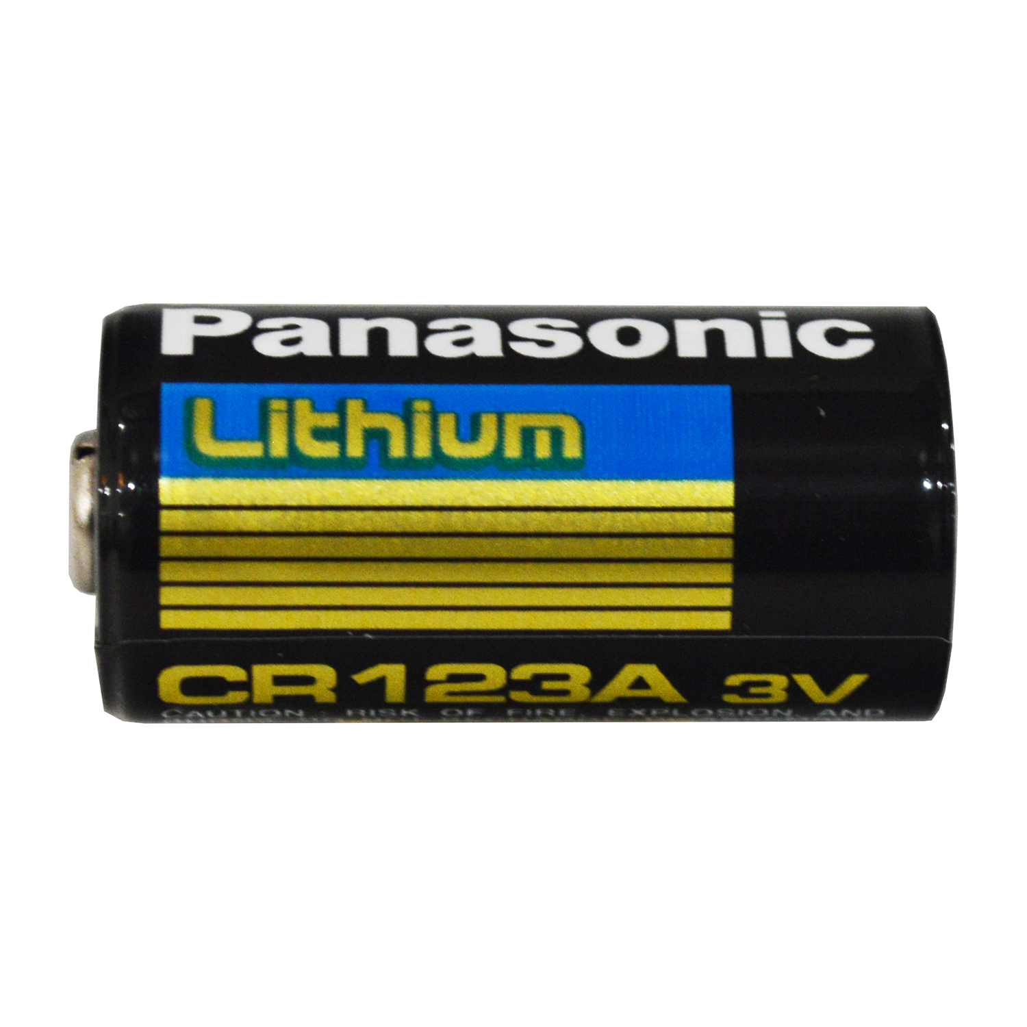 Panasonic CR123A 3V Long Lasting Lithium Battery