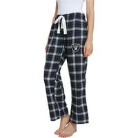 All Over Team Logo Flannel Pajama Pants Las Vegas Oakland Raiders Youth Size Medium 10//12