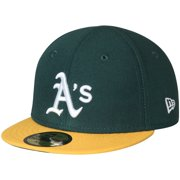 Oakland Athletics New Era Infant Authentic Collection On-Field My First 59FIFTY Fitted Hat - Green