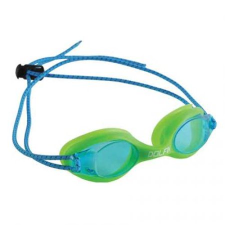 Dolfin Swimwear Bungee Racer Goggle - Blue, One Size Fits All ()