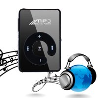 Stylish MP3 Music Player Mini Clip Specchio Rechargeable USB 2.0 Support  TF Card