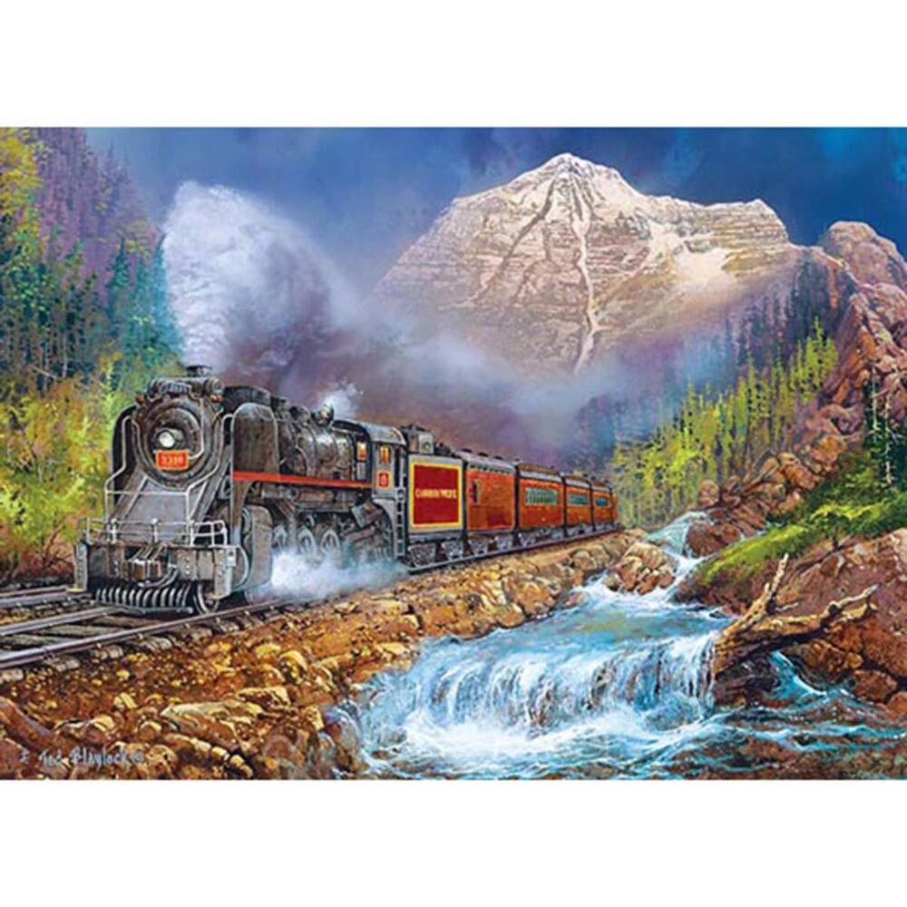 Masterpieces Puzzle Co Canadian Pacific Jigsaw Puzzle