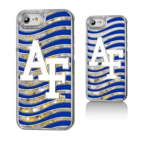 AF Air Force Academy Falcons Wave Glitter Case for iPhone 8 / 7 / 6