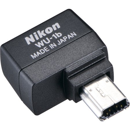 Nikon Wu 1b Wireless Wi Fi Mobile Adapter Sends Images To Your
