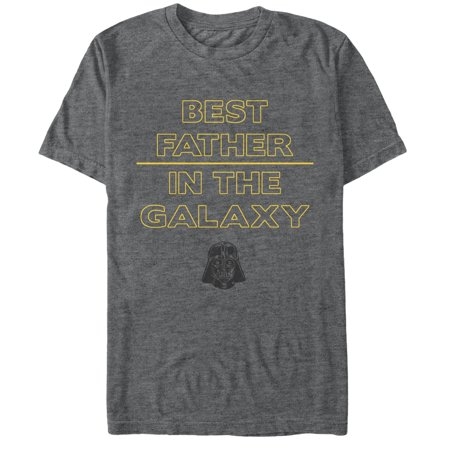 Star Wars Men's Darth Vader Best Father  T-Shirt (Darth Vader Best Dad Shirt)
