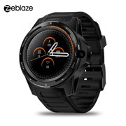 "Zeblaze THOR 5 4G LTE Smart Watch 2GB+16GB 1.39"" AMOLED Screen 8.0MP Camera Smart Wristwatch GPS GLONASS Beidou Nano SIM WiFi BT4.0 Phone Watch for Android / iOS"
