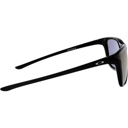 07e96ab56d4e3 Oakley Men s Polarized Reverie OO9362-07 Black Square Sunglasses - image 1  ...