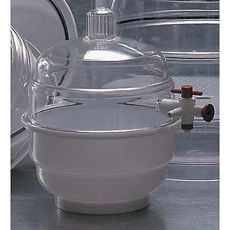 BEL-ART - SCIENCEWARE 420100000 Space Saver Vacuum Desiccator, 6-3/4 Dia.