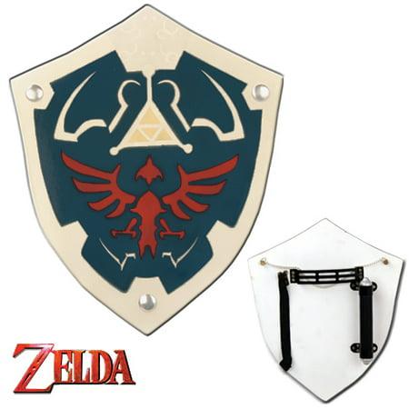 Legend Of Zelda Hylian Wooden Replica Shield (Legend Of Zelda Statues)