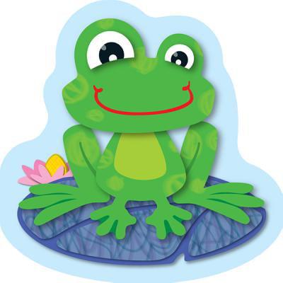 FUNky Frogs Mini Cut-Outs - Mini Frogs