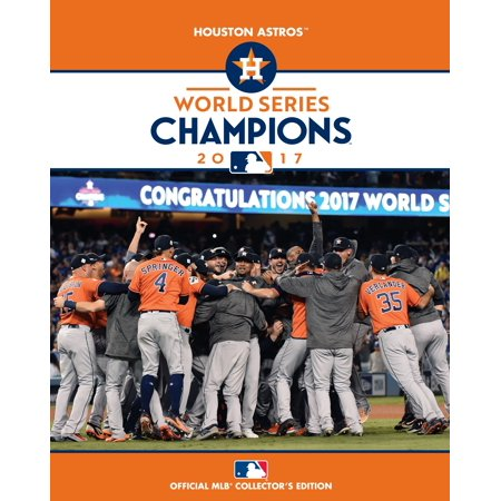 Houston Astros 2017 World Series Champions Official Collector's Book - No - Official Date Of Halloween 2017