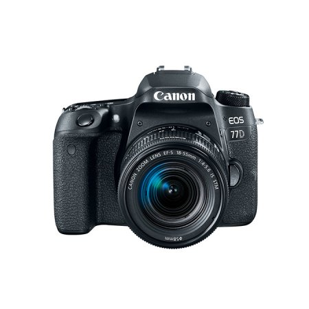 Canon EOS 77D DSLR Camera with 18-55mm Lens by Canon