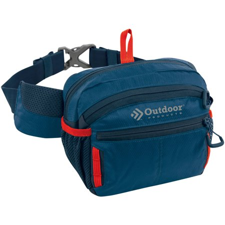 Outdoor Products Echo Waist Fanny Pack, - Denim Fanny Pack