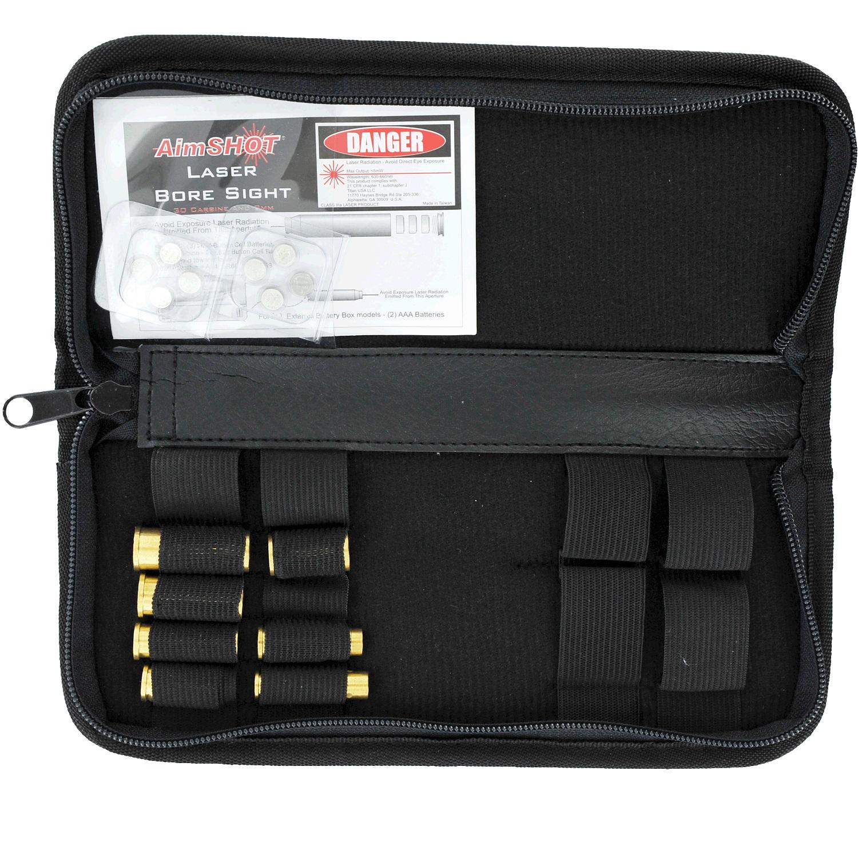 AimSHOT KT-Pistol Pistol Laser Bore Sight Kit Most Calibers