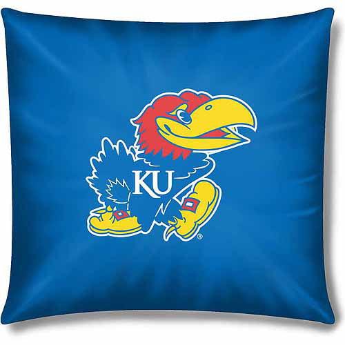 """NCAA Kansas Jayhawks Official 15"""" Toss Pillow, 1 Each"""