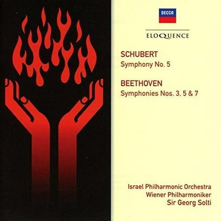 Beethoven: Symphonies 3 5 & 7 / Schubert: Symphony