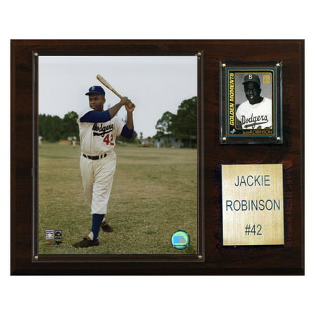 C&I Collectables MLB 12x15 Jackie Robinson Brooklyn Dodgers Player Plaque ()