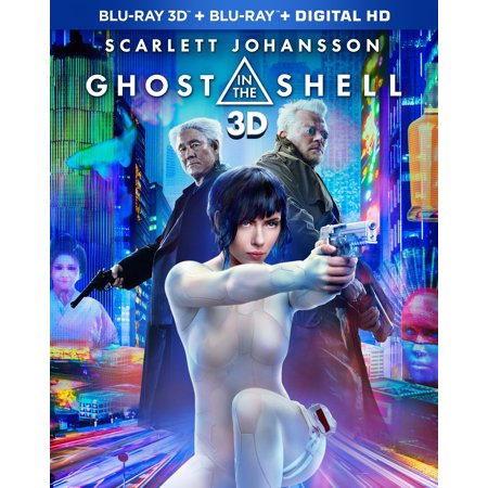 Ghost In The Shell (Walmart Exclusive) (Blu-ray 3D + Blu-ray + Digital