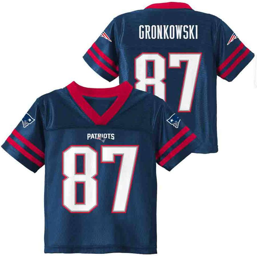 NFL New England Patriots Toddler Rob Gronkowski Jersey