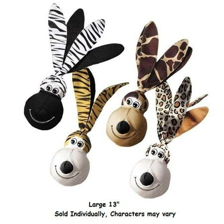 FLOPPY EARS WUBBAS Safari Tough Toys for Dogs Shake & Squeak Dog Toy Choose Size (Large - 13 Inch)](Yoda Ears For Dog)