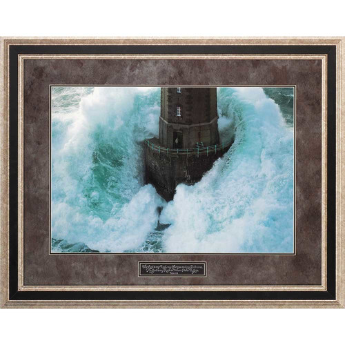 Dicksons Inc 'Lighthouse' by Jean Guichard Framed Photographic Print