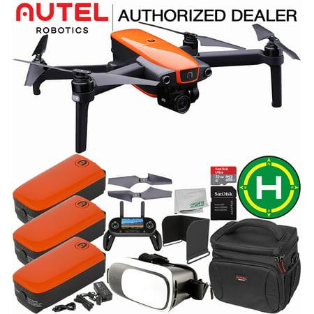 Autel Robotics EVO Foldable Quadcopter with 3-Axis Gimbal Ultimate Autel Case Bundle