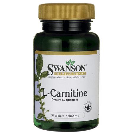 Swanson L-Carnitine 500 mg 30 Tabs