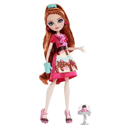 Ever After High Maddie Hatter (Sugar Coated Holly O'Hair Doll, When Madeline Hatter, Cedar Wood and Holly O'Hair decide to work with gourmet chef Ginger Breadhouse on a bake.., By Ever After High Ship from)