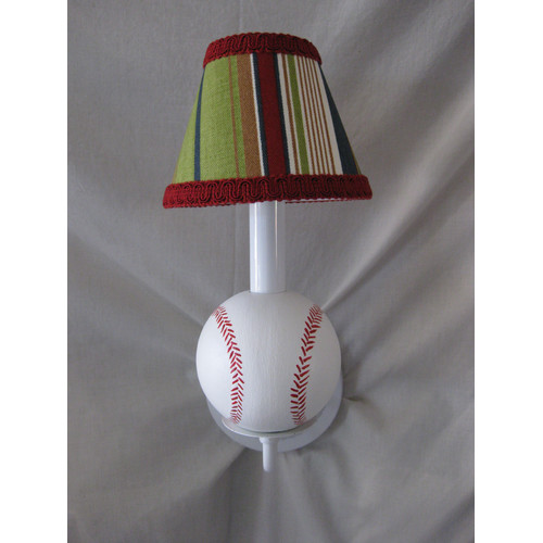 Silly Bear Lighting All Star Sports Baseball Wall Sconce