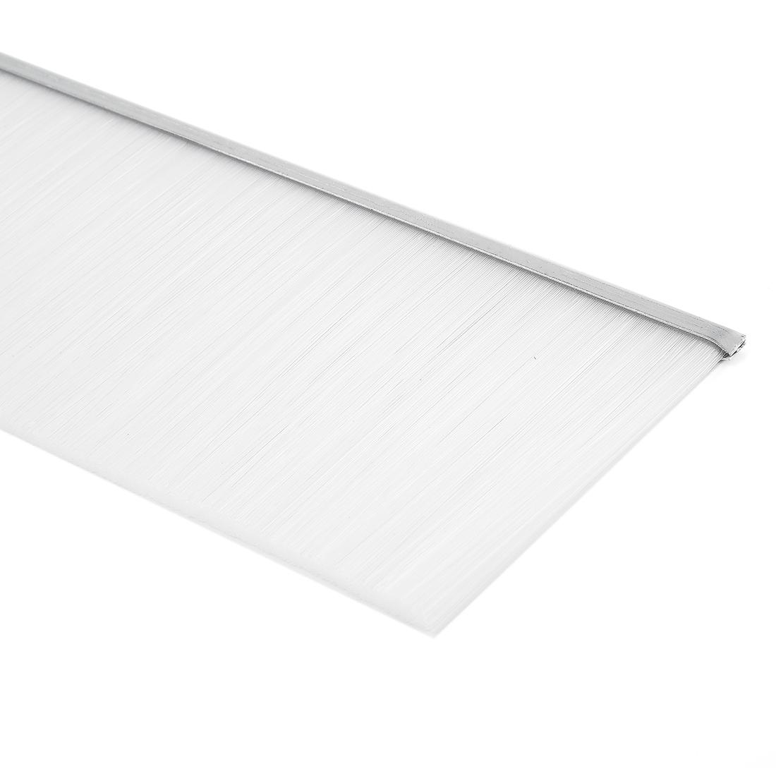 39-inch x 3.6-inch Door Bottom Sweep Nylon Brush Insert Seal White - image 3 of 5