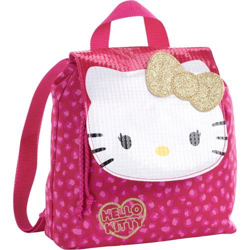 Hello Kitty Drawstring Mini Backpack- Pi