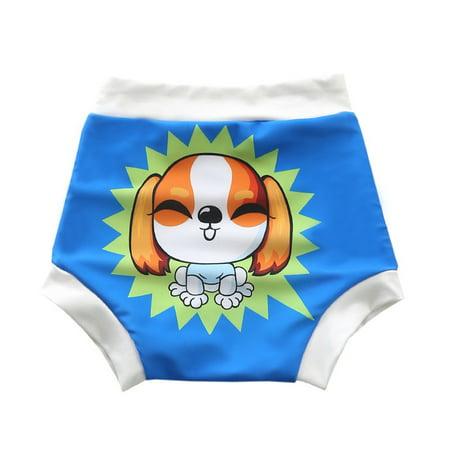 Baby & Toddler Swim Diapers Waterproof Leakage-proof Reusable Swimming Nappy Pants Swimwear 2XL