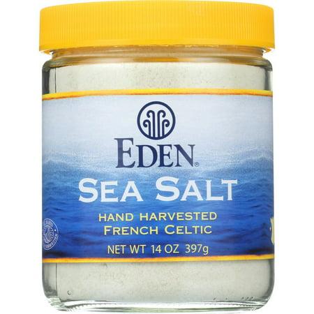 Eden French Celtic Sea Salt, 14 Oz (Pack Of 12)