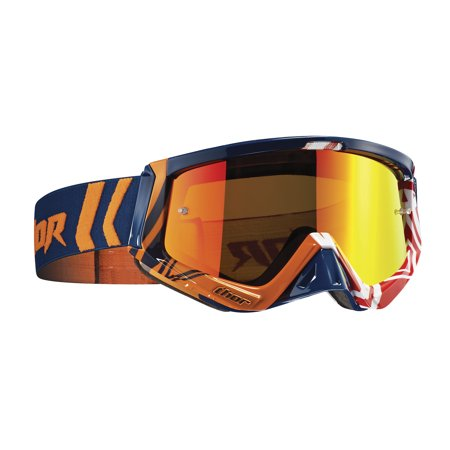 Thor Sniper MX/Offroad Goggles Geo Navy/Blue/Orange OS