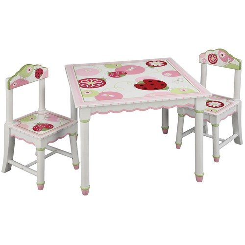 Guidecraft Table And Chairs Set, Sweetie