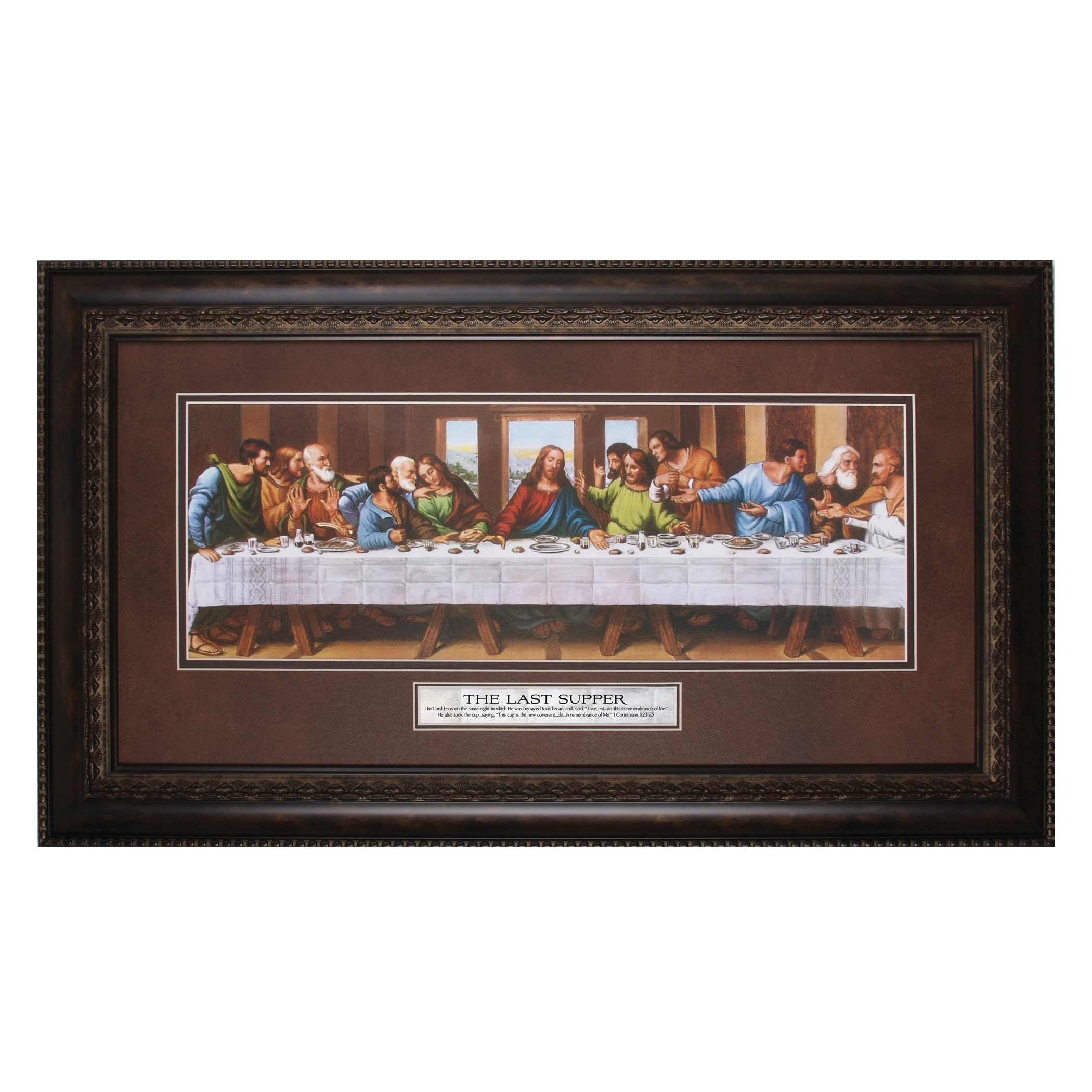 James Lawrence  'The Last Supper, The Lord' Framed Wall Art