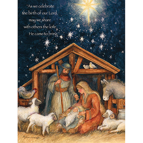 Lang Holy Family Boxed Christmas Cards
