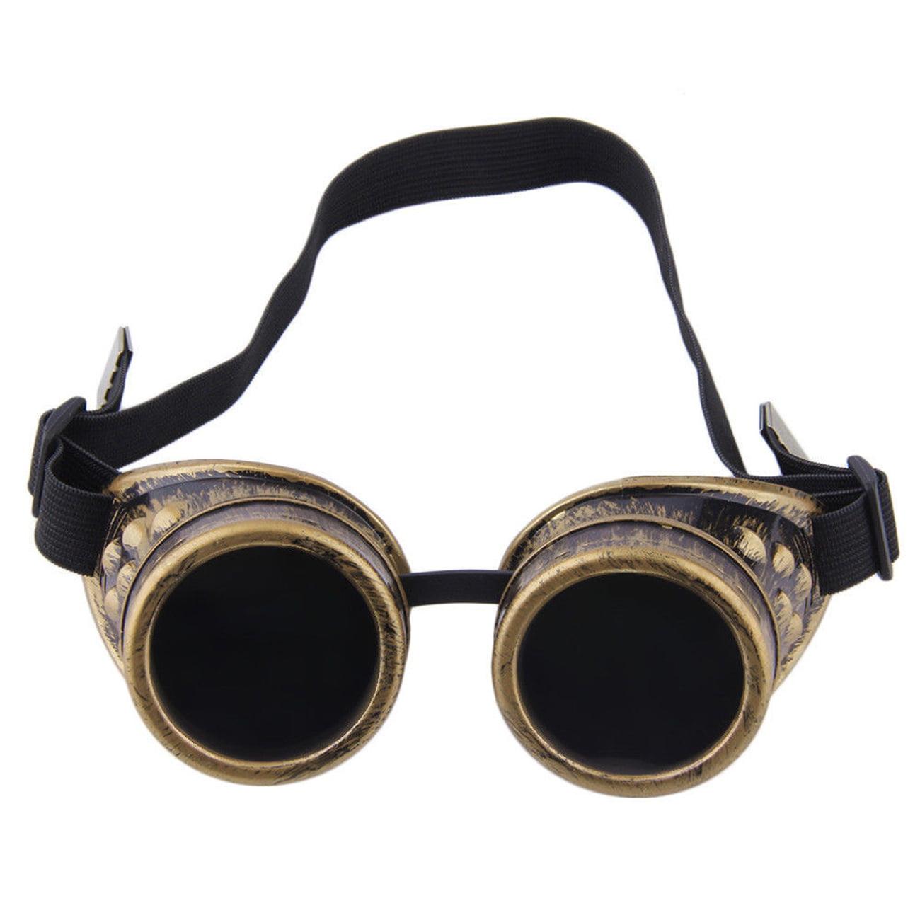 C.F.GOGGLE Retro Steampunk Goggles Welding Halloween Gothic Cosplay Glasses