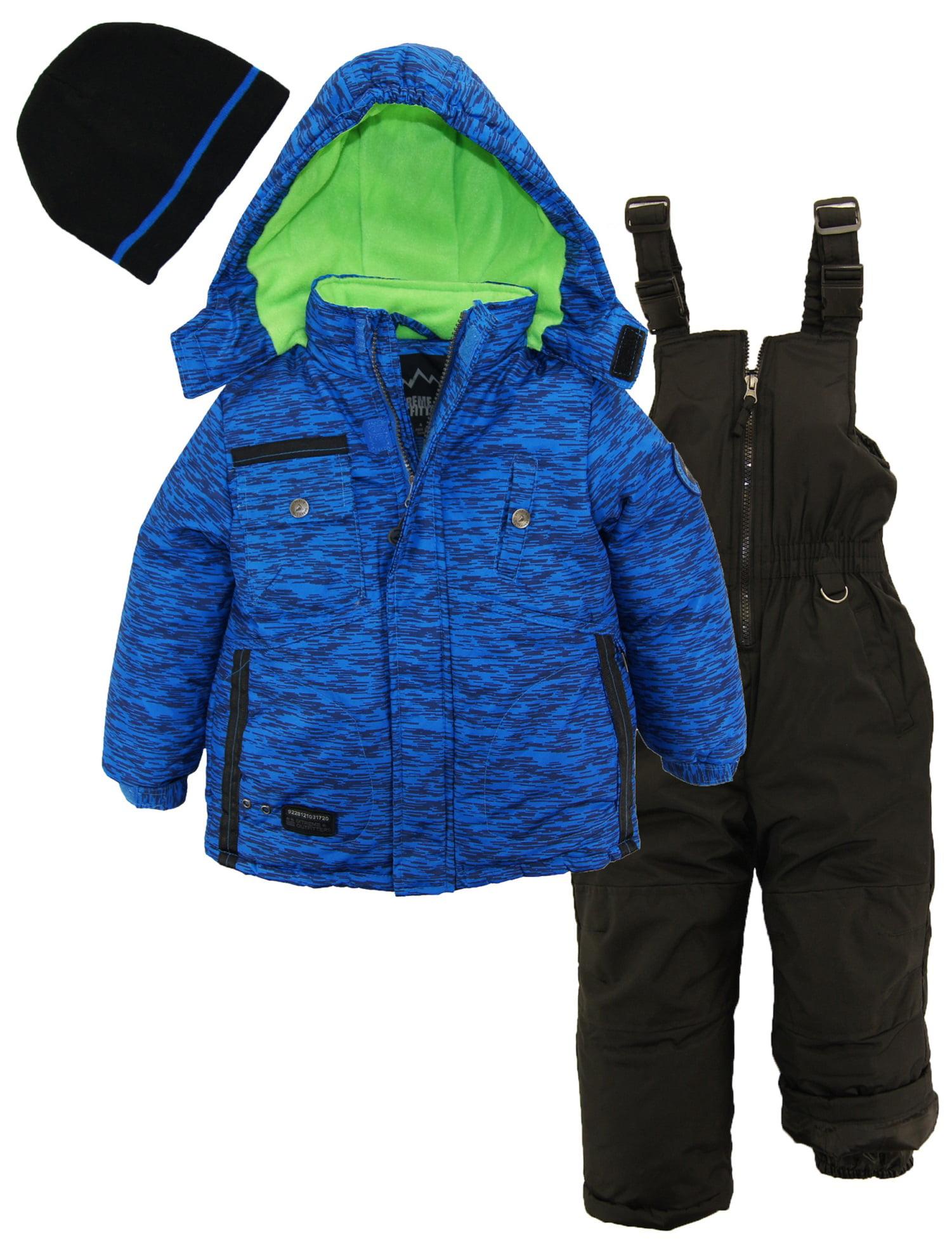 ee0559dc27b9 ixtreme - ixtreme toddler boys colorblock heavy snowsuit winter ski ...