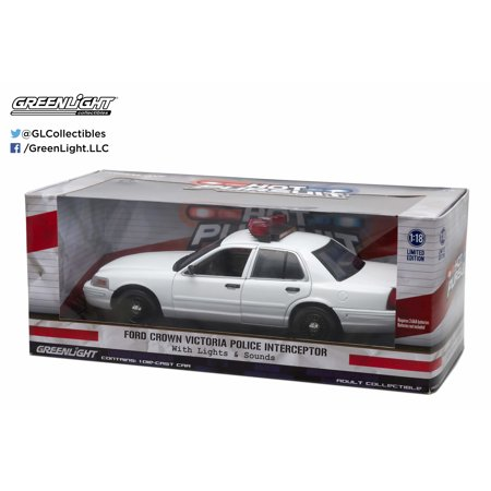 Police 2007 Ford Crown - Greenlight: Ford Crown Victoria Police