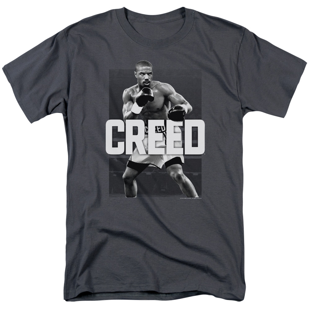 Creed/Final Round   S/S Adult 18/1   Charcoal      Mgm263